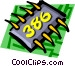 Computer chips Vector Clip Art picture