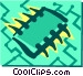 Computer chips Vector Clipart image