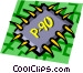Computer chips Vector Clipart picture
