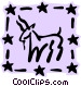 Sign of the zodiac - Capricorn Vector Clipart illustration