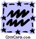 Sign of the zodiac - Aquarius Vector Clipart illustration