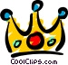 Crown Vector Clipart graphic