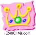 Crown Vector Clipart illustration