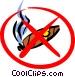 No smoking sign Vector Clip Art graphic