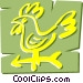 Weathervane Vector Clip Art image