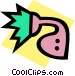 shower head Vector Clip Art image