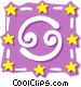 Sign of the zodiac - Cancer Vector Clipart picture