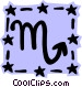 Sign of the zodiac - Scorpio Vector Clipart image