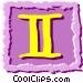 Roman numerals Vector Clip Art image