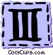 Roman numerals Vector Clip Art picture