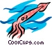 Squid Vector Clipart graphic