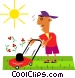 Lawn care Vector Clipart image
