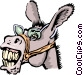Donkeys Vector Clipart illustration