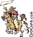 Cowboys Vector Clipart graphic