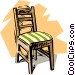 Chair Vector Clip Art graphic