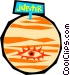 Planet Jupiter Vector Clipart illustration