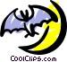 Bat Vector Clip Art image