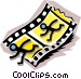 Filmstrip Vector Clipart image