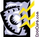 Shield symbol Vector Clip Art graphic