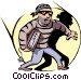 Thief Vector Clipart image