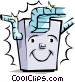 Furnace Vector Clipart picture