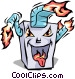 Furnace Vector Clip Art picture