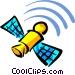 Satellites Vector Clipart graphic