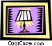 lamp Vector Clipart image
