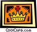 Crown Vector Clip Art image