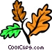 Autumn leaves Vector Clipart illustration