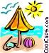 Beaches Vector Clip Art image