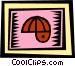 helmet Vector Clipart illustration