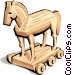 Trojan Horse Vector Clipart picture
