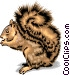 Squirrel Vector Clipart picture