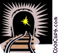 train tunnel Vector Clipart image