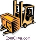 forklift Vector Clipart picture