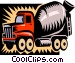 cement truck Vector Clip Art picture