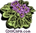 Colorful plant Vector Clipart illustration