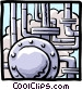 industry/gas pipelines Vector Clip Art image