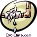 Symbol of a pipe Vector Clipart picture