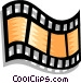 filmstrip Vector Clipart illustration