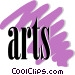 arts Vector Clipart illustration