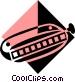 harmonica symbol Vector Clipart illustration