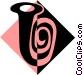 tuba symbol Vector Clipart graphic