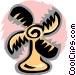 fan Vector Clip Art graphic