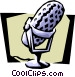 microphone Vector Clipart illustration