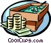 gambling with your money Vector Clipart picture