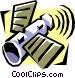 space telescope Vector Clip Art image
