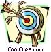 bull's-eye Vector Clipart image