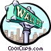 Street sign Vector Clipart picture